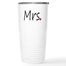 Mrs (Red Heart) Travel Mug