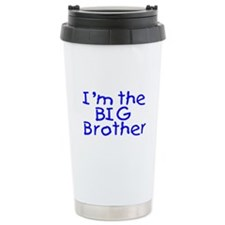 I'm The Big Brother (Blue) Travel Mug