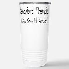 Unique Behavior Travel Mug