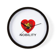 Nobility Wall Clock