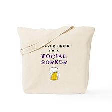 Social worker tote Tote Bag