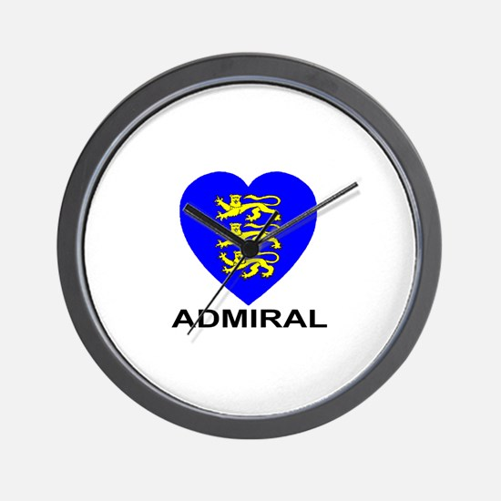 Admiral Wall Clock