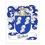 Guibert Family Crest Small Poster