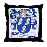 Guibert Family Crest Throw Pillow