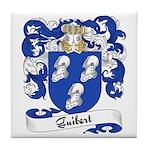 Guibert Family Crest Tile Coaster