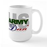 US Army Dad Large Mug