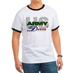 US Army Dad Ringer T