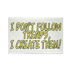 Trend Setter Rectangle Magnet (100 pack)