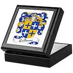 Guillaume Family Crest Keepsake Box