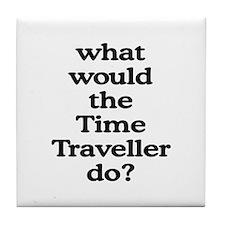 Time Traveller Tile Coaster