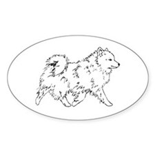 Eskie Oval Decal