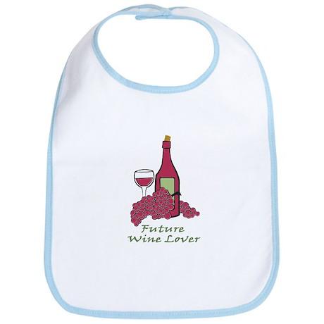 future wine lover Bib