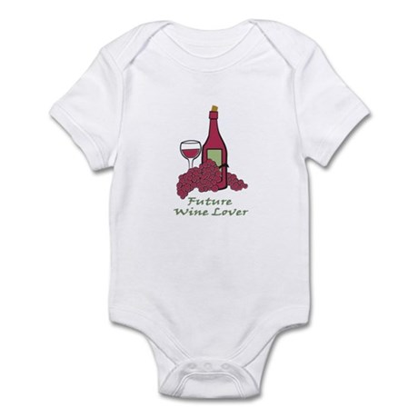future wine lover Infant Bodysuit