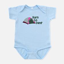 Born To Camp Infant Bodysuit
