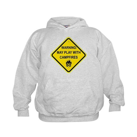 Play With Campfires Kids Hoodie