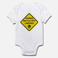 Play With Campfires Infant Bodysuit