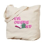 First Camping Trip Tote Bag