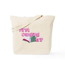 First Camping Trip Tote Bag