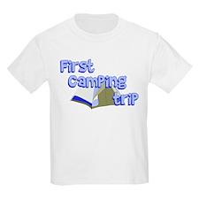 First Camping Trip T-Shirt