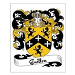 Guillou Family Crest Small Poster