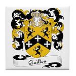 Guillou Family Crest Tile Coaster