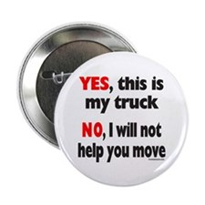 "YES, THIS IS MY TRUCK 2.25"" Button"