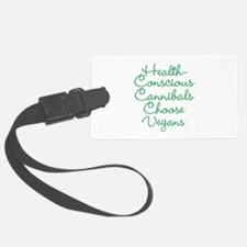 Vegans Luggage Tag