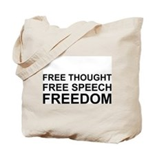 """FREEDOM"" Tote Bag"
