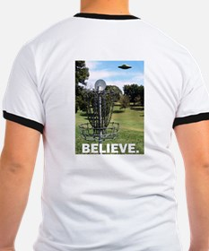 'Believe' Disc Golf T
