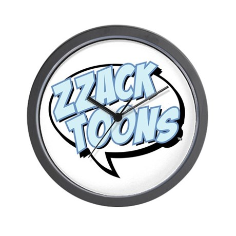 Zzack Toons Wall Clock
