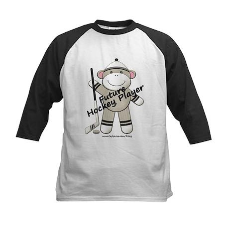 Future Hockey Player Kids Baseball Jersey