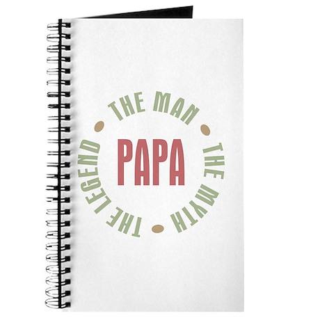 Papa Man Myth Legend Journal
