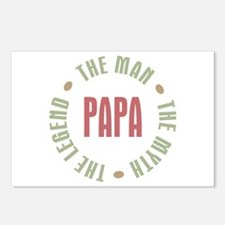 Papa Man Myth Legend Postcards (Package of 8)