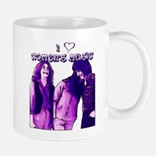 I Heart Women's Music Mug