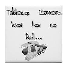 Tabletop Gamers Tile Coaster