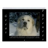 Great pyrenees Wall Calendars