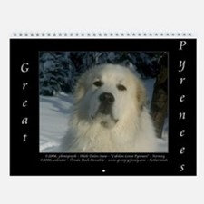 Great Pyrenees Iv #6 Wall Calendar 2016