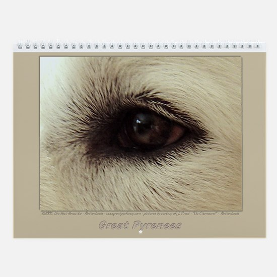 Great Pyrenees Wall Calendar, Family Fun