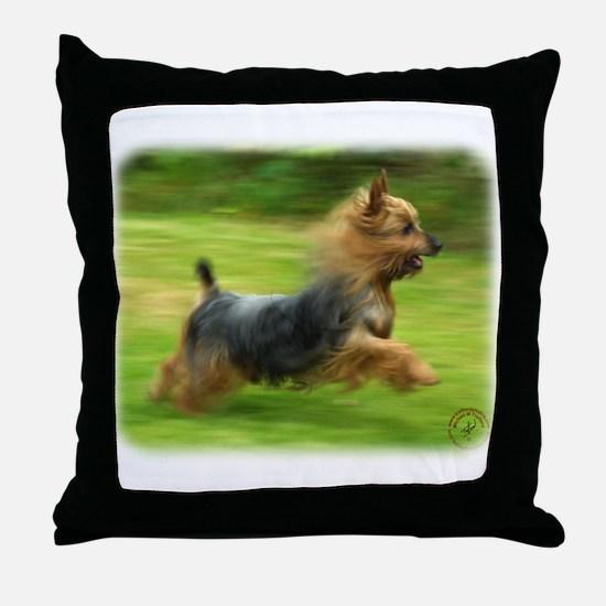Australian Silky Terrier 9B19D-03 Throw Pillow