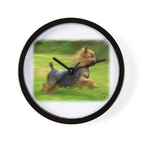 Australian Silky Terrier 9B19D-03 Wall Clock