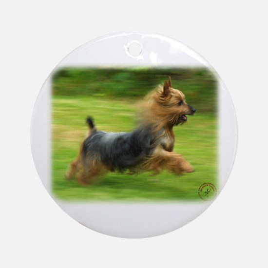 Australian Silky Terrier 9B19D-03 Ornament (Round)