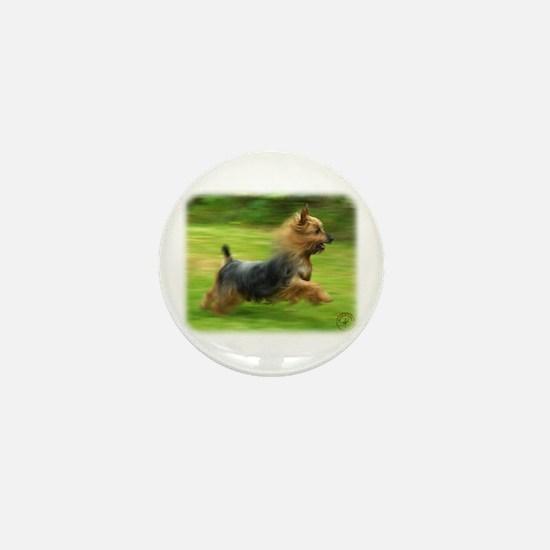 Australian Silky Terrier 9B19D-03 Mini Button