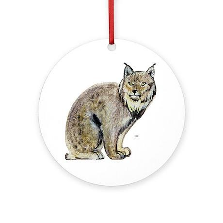 Lynx Wild Cat Keepsake (Round)