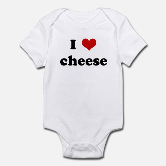 I Love cheese Infant Bodysuit
