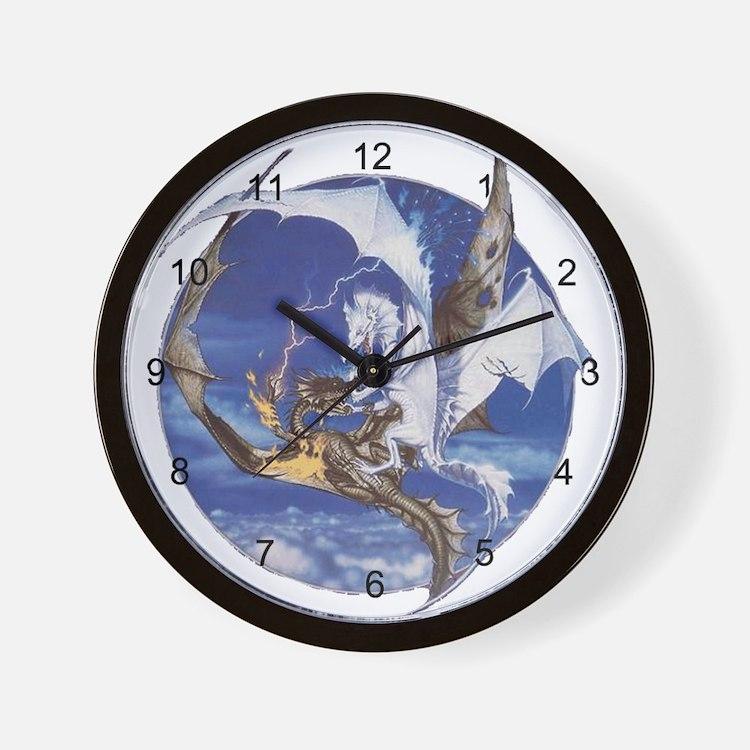 Good vs. Evil Wall Clock