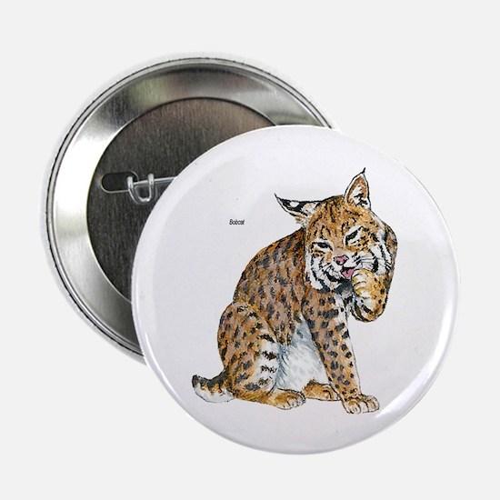 """Bobcat Wild Cat 2.25"""" Button (10 pack)"""