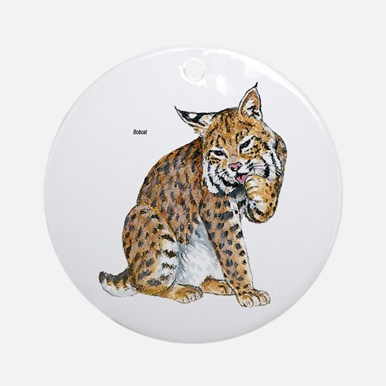 Bobcat Wild Cat Keepsake (Round)