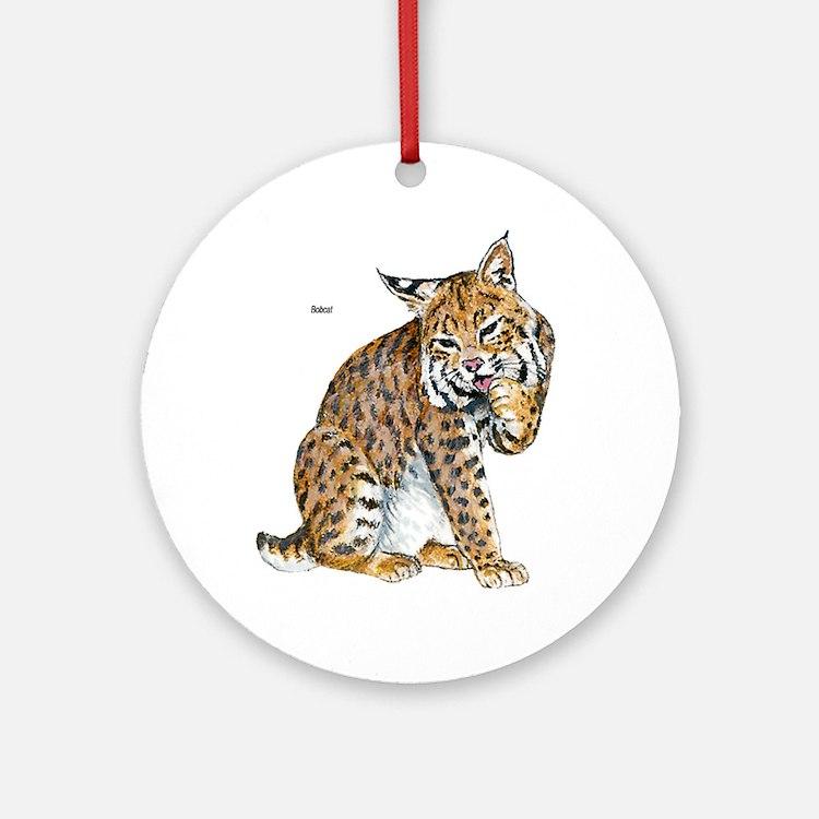 Bobcat Wild Cat Keepsake (Round)