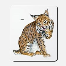 Bobcat Wild Cat Mousepad