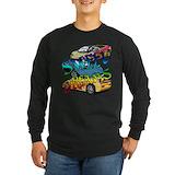 Exotic car Long Sleeve Dark T-Shirts